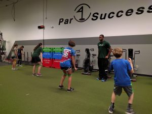Junior Golf fitness class