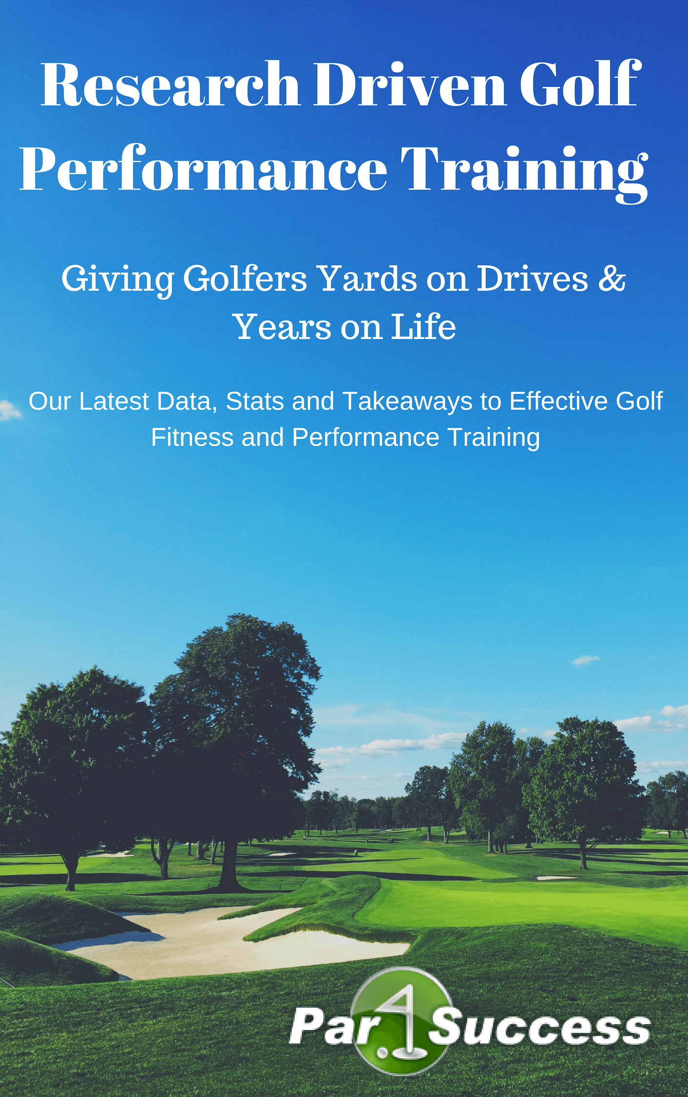 Research Driven Golf Performance Training Cover