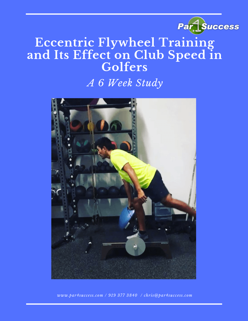 Eccentric Flywheel Training and Its Effect on Club Speed in Golfers Cover