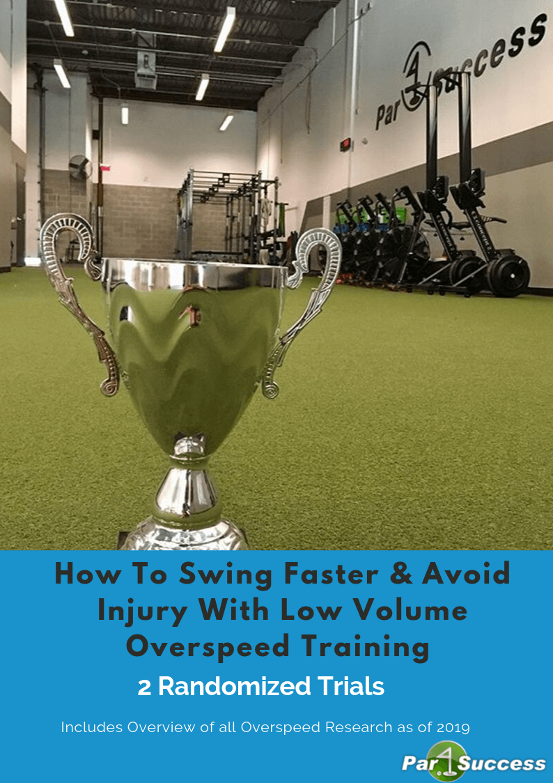 Overspeed Training Low Volume Protocol Research Book Cover